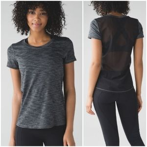Lululemon Beat The Heat Mesh Shirt